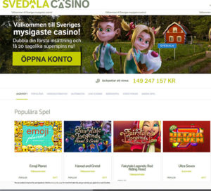 svedalacasino screenshot 1