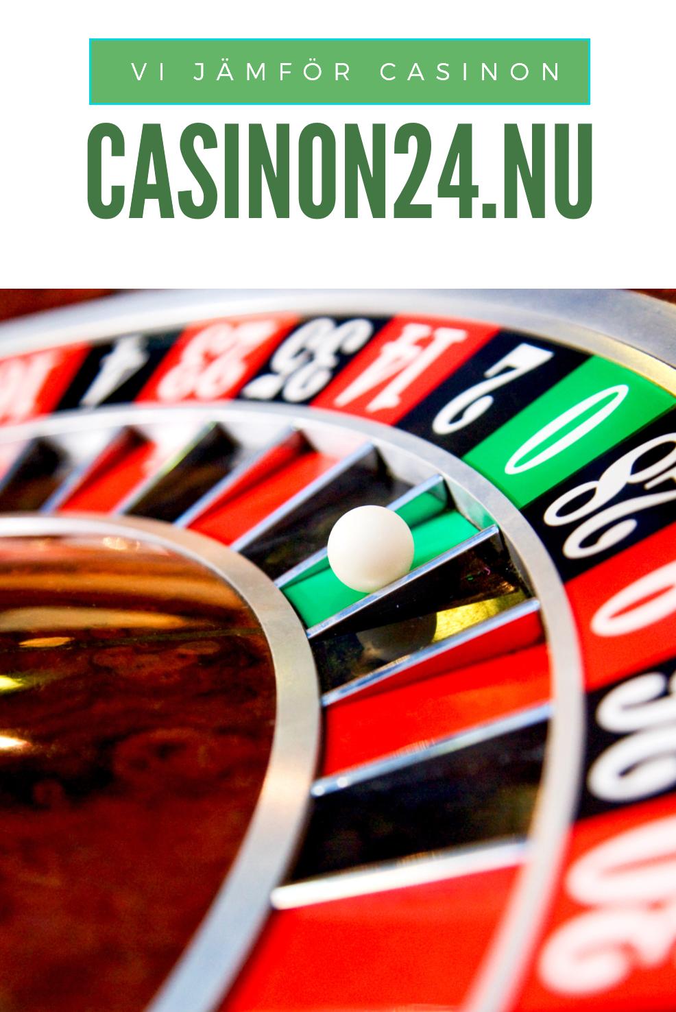 casinon24.nu – En sajt för online casinospelare